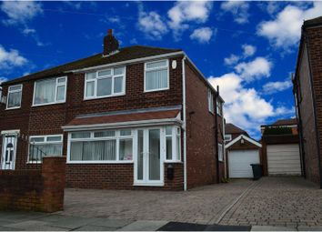 Thumbnail 3 bed semi-detached house for sale in Kirkway, Alkrington, Middleton