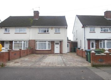 Thumbnail 3 bed semi-detached house to rent in Horseshoe Lane, Watford