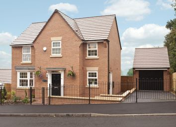 "Thumbnail 4 bed detached house for sale in ""Mitchell"" at Morda, Oswestry"