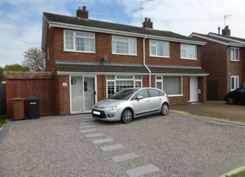Thumbnail 3 bed semi-detached house for sale in Carron Drive, Werrington, Peterborough