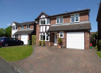 Thumbnail 4 bed detached house for sale in Shepherds Fold Drive, Winsford, Cheshire