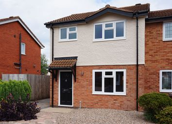 Thumbnail 3 bed semi-detached house to rent in Baywell Close, Solihull
