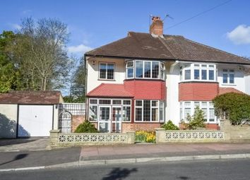 Thumbnail 3 bedroom semi-detached house for sale in Bolderwood Way, West Wickham