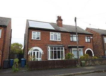 Thumbnail 3 bed semi-detached house for sale in Hampton Road, West Bridgford, Nottingham