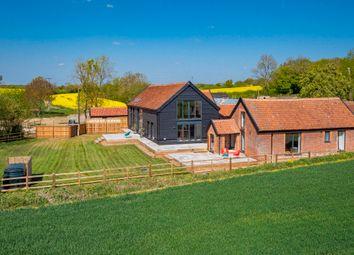 Thumbnail 4 bed barn conversion for sale in Willisham, Ipswich, Suffolk