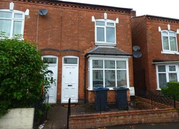 Thumbnail 2 bed terraced house to rent in Clarence Road, Harborne, Birmingham