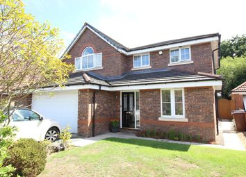 Thumbnail 4 bed detached house for sale in Moorfield Close, Penwortham, Preston