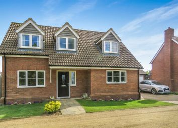 Thumbnail 3 bed detached house for sale in Royal Oak Close, Upwood, Ramsey, Huntingdon