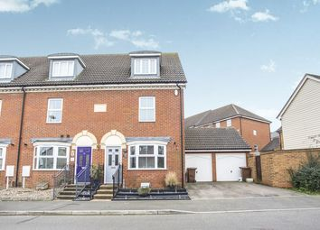 Thumbnail 3 bed end terrace house for sale in Toad Hall Crescent, Chattenden, Rochester