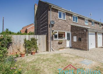 Thumbnail 3 bed semi-detached house for sale in Neville Road, Sutton, Norwich
