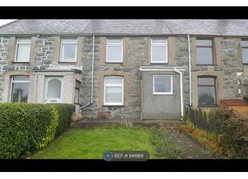 Thumbnail 2 bedroom terraced house to rent in Bron Y Waun Terrace, Penisarwaun, Caernarfon