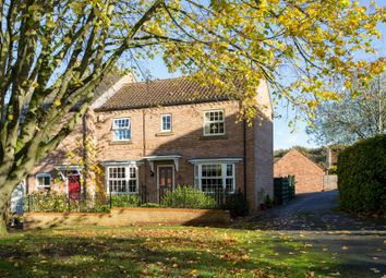Thumbnail 4 bedroom end terrace house for sale in Larch Rise, Easingwold, York