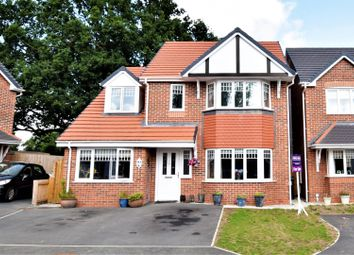 Thumbnail 4 bed detached house for sale in Oakfield Close, Mold
