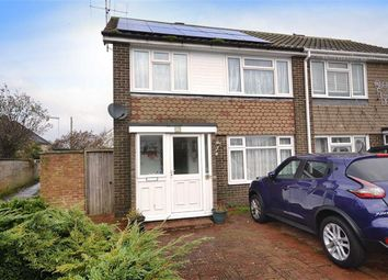 Thumbnail 3 bed semi-detached house for sale in Ophir Road, Worthing, West Sussex