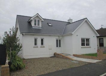 Thumbnail 3 bed detached bungalow for sale in Craig Las, Letterston, Haverfordwest
