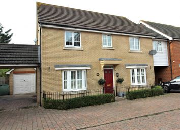 4 bed link-detached house for sale in Baden Powell Close, Great Baddow, Chelmsford, Essex CM2