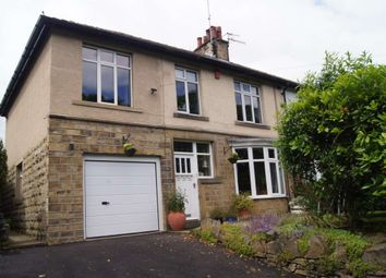 Thumbnail 4 bed semi-detached house to rent in Springwood Road, Thongsbridge, Holmfirth