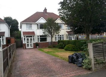 Thumbnail 3 bed semi-detached house to rent in Coleshill Road, Sutton Coldfield, Three Bedrooms