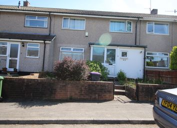 Thumbnail 3 bed terraced house for sale in Manorbier Drive, Llanyravon, Cwmbran