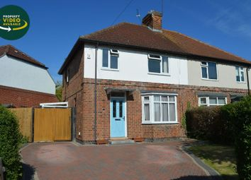 Thumbnail 3 bed semi-detached house for sale in Granville Avenue, Oadby, Leicester