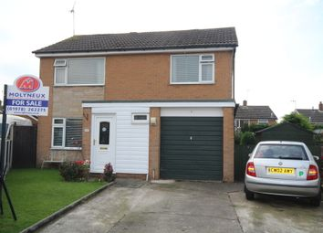 Thumbnail 4 bed detached house for sale in Cedar Close, Wrexham