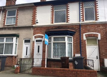 Thumbnail 3 bed terraced house to rent in Owen Road, Wolverhampton