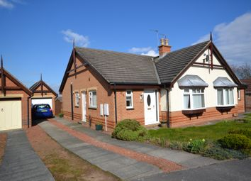 Thumbnail 2 bed semi-detached bungalow to rent in Pinders Way, Sherburn Hill, Durham