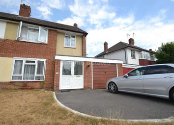 Thumbnail 3 bed semi-detached house to rent in Fawcett Crescent, Woodley, Reading