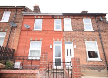 Thumbnail 3 bed terraced house to rent in Philip Road, Ipswich, Suffolk