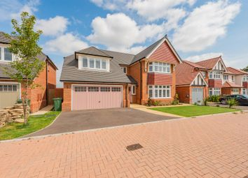 Thumbnail 5 bed detached house for sale in Palmer Way, Langdon Hills, Basildon