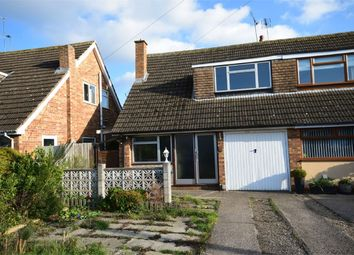 Thumbnail 3 bed semi-detached house for sale in Plantagenet Drive, Woodlands, Rugby, Warwickshire