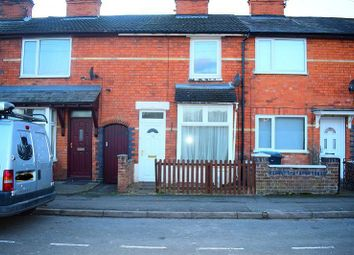 Thumbnail 2 bed terraced house to rent in Clarence Street, Market Harborough Road, Northamptonshire