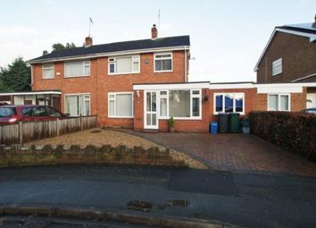 Thumbnail 1 bed flat to rent in Cotebrook Drive, Upton, Chester