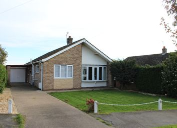 Thumbnail 3 bed detached bungalow for sale in Meadow Rise, Saxilby, Lincoln