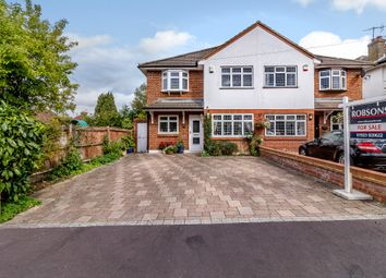 Thumbnail 4 bed semi-detached house for sale in Raglan Gardens, Watford