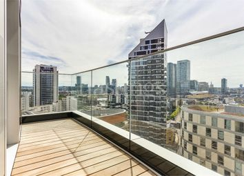 Thumbnail 1 bed flat to rent in Charrington Tower, 11 Biscayne Avenue, London