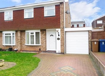Thumbnail 3 bedroom semi-detached house to rent in Cypress Close, Stafford