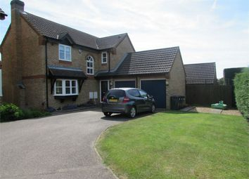 Thumbnail 4 bed detached house to rent in Sapley Road, Hartford, Huntingdon