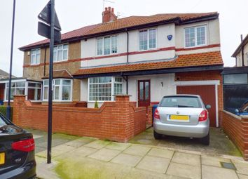 Thumbnail 4 bed semi-detached house for sale in Greenwood Avenue, Walkerville, Newcastle Upon Tyne