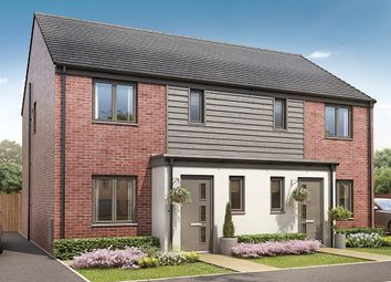 "Thumbnail 3 bed semi-detached house for sale in ""The Hanbury"" at Pinhoe, Exeter"