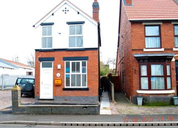 Thumbnail 3 bed detached house to rent in Stafford Rd, Cannock