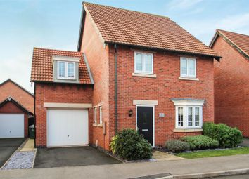 Thumbnail 4 bed detached house for sale in Hallaton Drive, Syston, Leicester