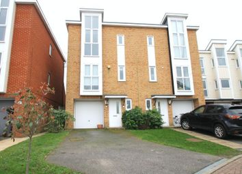 Thumbnail 3 bed semi-detached house for sale in Fraser Way, Hawkinge, Folkestone