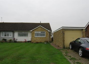 Thumbnail 2 bed semi-detached bungalow for sale in Swinburne Avenue, Willingdon, Eastbourne
