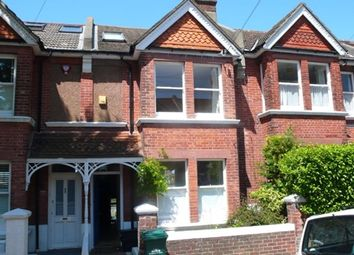 Thumbnail 4 bed terraced house to rent in Lowther Road, Brighton