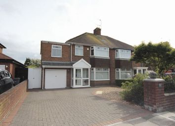 Thumbnail 4 bed semi-detached house for sale in Leasowe Road, Moreton, Wirral