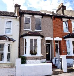 Thumbnail 2 bed terraced house for sale in Kitchener Road, Strood, Rochester