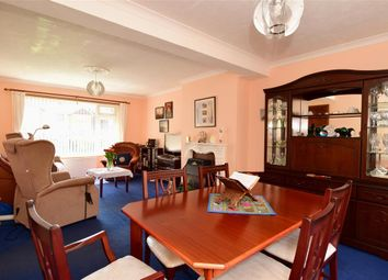 Thumbnail 3 bed detached house for sale in Kipling Avenue, Woodingdean, Brighton, East Sussex