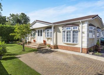 Thumbnail 3 bed mobile/park home for sale in Harthurstfield Park, Fiddlers Green Lane, Cheltenham, Gloucestershire