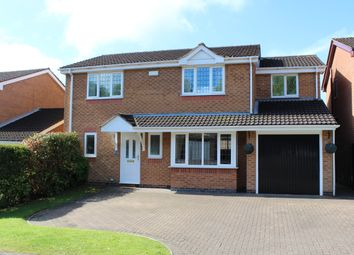 Thumbnail 4 bed detached house for sale in The Heath, Giltbrook